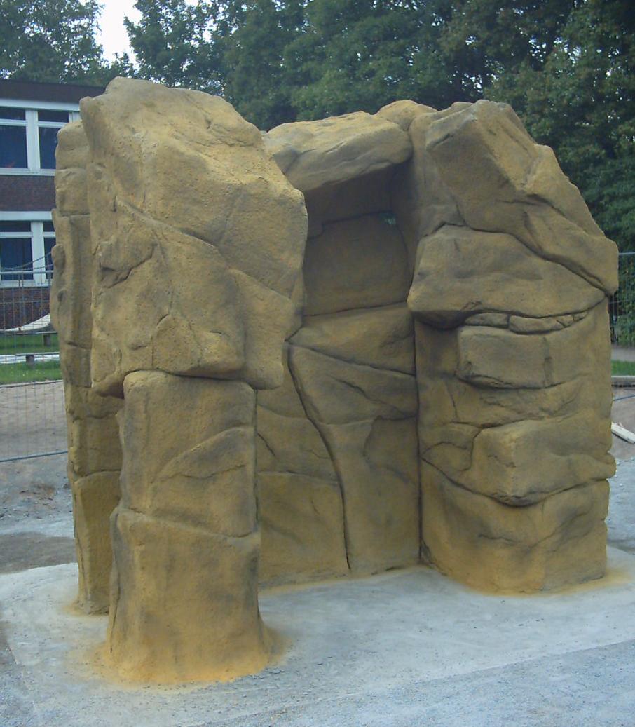 Kletterfelsen Carl Cohn Schule Hamburg, 2009