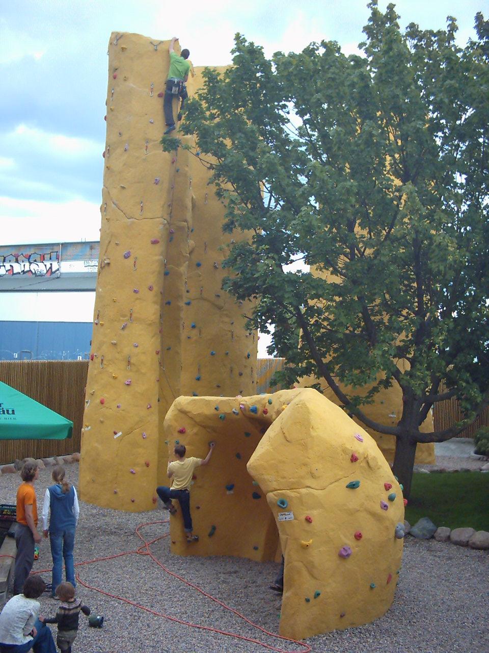 Kletterhalle Magic Mountain Berlin 2009