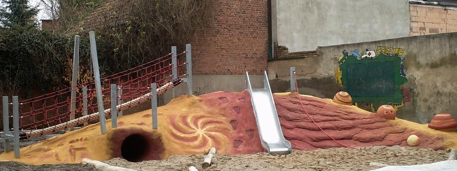 Galaktische Wolke, Schwerin, Fritz-Reuter-Grundschule, 2010